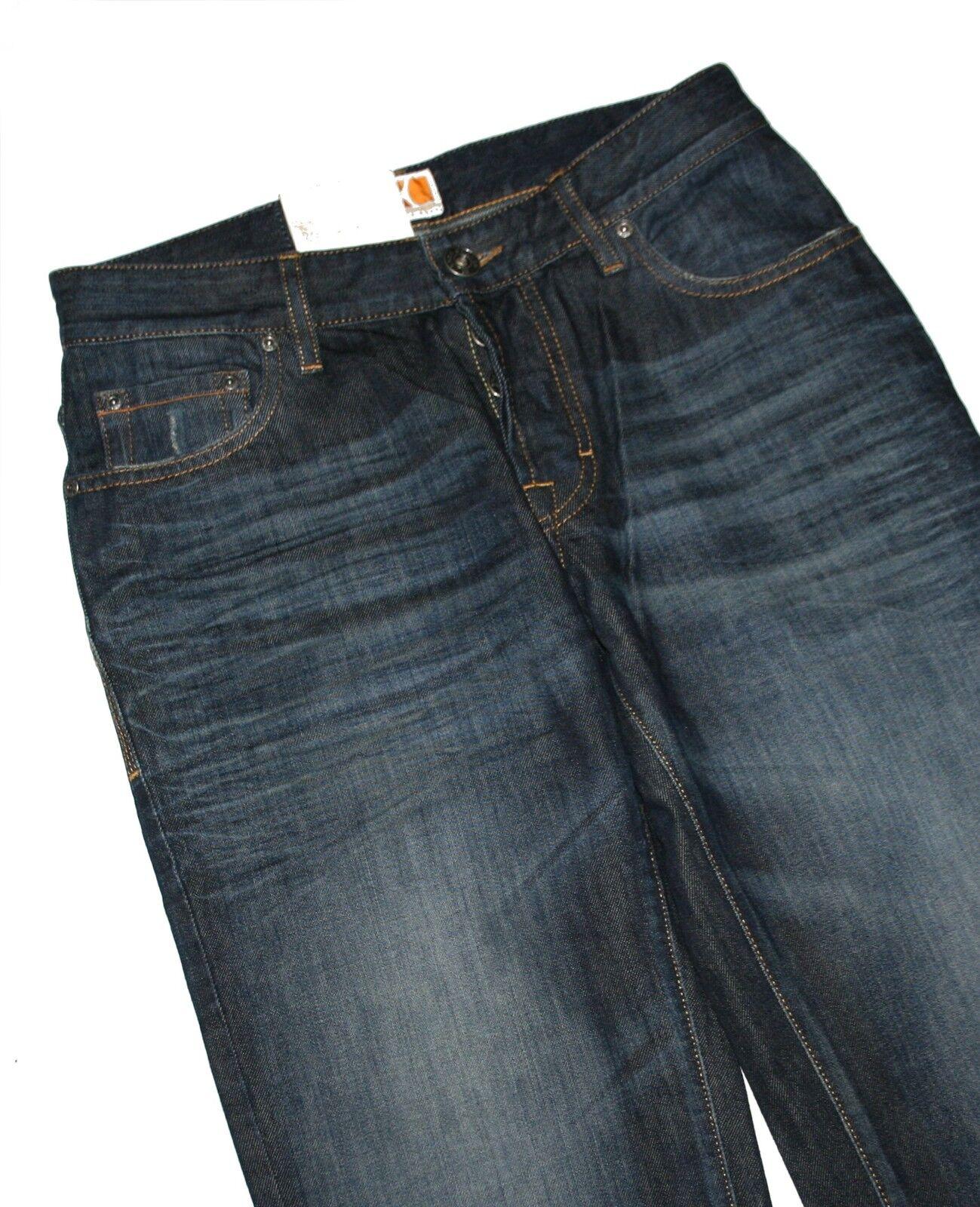 Hugo Boss 50246383 blue Foncé Denim BO1 Jeans Coupe Régulière W30 L32