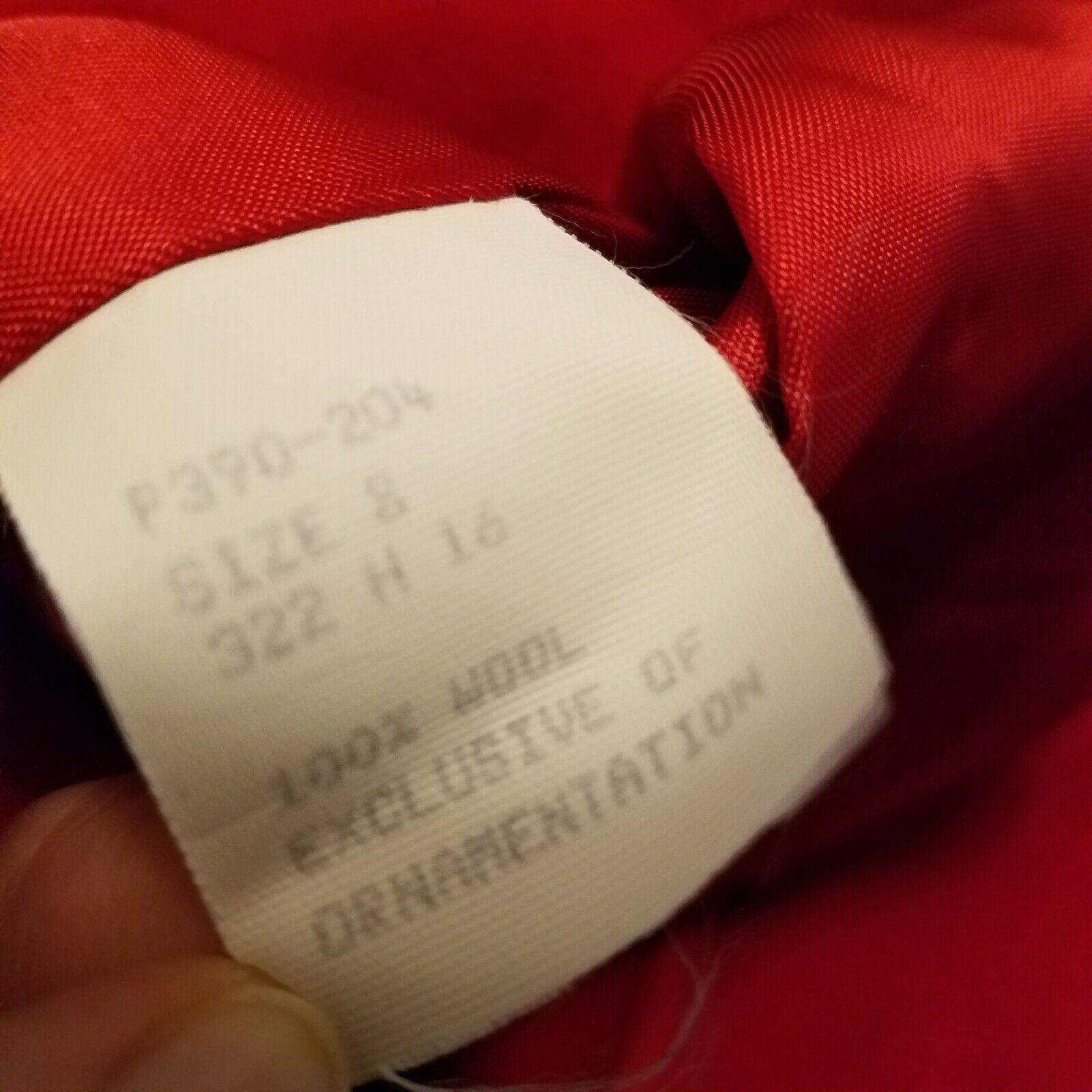 Vintage Pendleton Red Wool Velvet Collar Blazer  - image 4