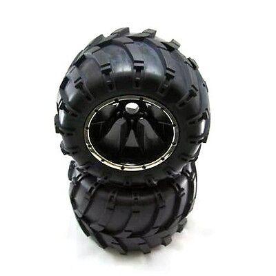 Redcat Racing Wheels Complete 2pcs 23mm Wheel hex Fits Rampage MT models  50017