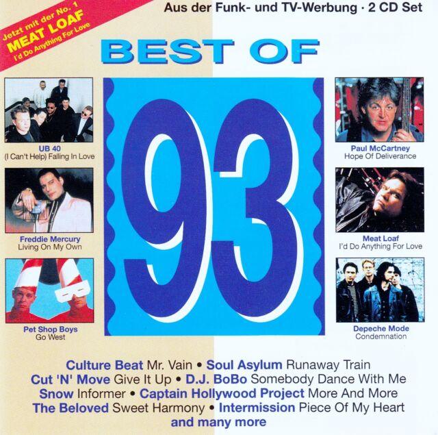 BEST OF 93 / 2 CD-SET - TOP-ZUSTAND