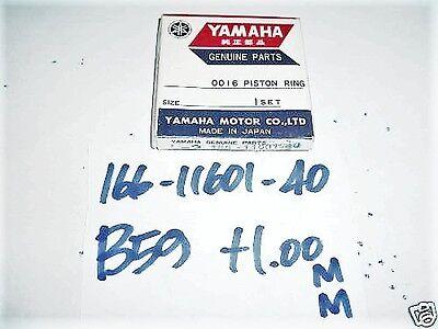 1.00mm 4th Oversize 166-11601-40 Nos Yamaha LT5 YL2 Piston RING