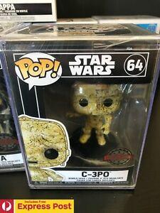 STAR-WARS-C3PO-C-3PO-FUTURA-FUNKO-POP-VINYL-BOBBLE-HEAD-FIGURE-64-W-HARD-CASE