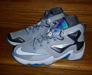 innovative design 114f7 5c0c6 Image is loading Nike-LeBron-13-XIII-GS-Hologram-Basketball-Youth-