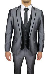 abito uomo con gilet