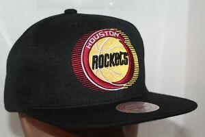Houston-Rockets-Mitchell-amp-Ness-NBA-Team-Logo-Snapback-Hat-Cap-35-00-NEW