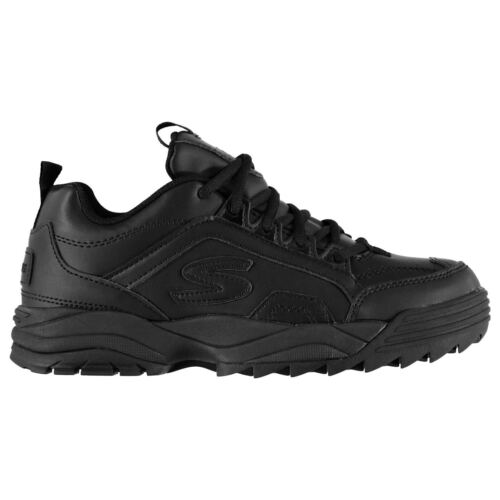 Skechers Intershift Boys Sneakers Runners Laces Fastened Everyday