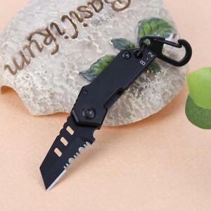 Portable-Mini-Folding-Knife-Outdoor-Camping-KeyChain-Wallet-Pocket-Survival-Tool