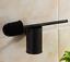 New-Wall-Mounted-Black-Stainless-Steel-Toilet-Brush-Holder-Bathroom-Cleaner-Kit thumbnail 1