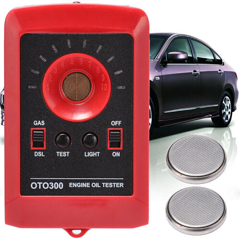 Car Digital Stroke Oil Quality Tester Motor Engine Detector Gas Diesel Gasoline Analyzer with Strap Oil Quality Detector