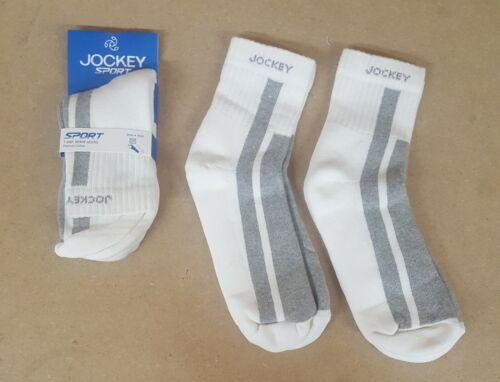 Jockey SOCKS Sport Mens 3//4//6 pair Black /& Grey white Ankle-Length Socks 7034