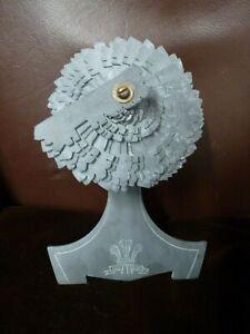 Carved-Welsh-Folk-Art-Slate-Sculpture-Ich-Dien-Investiture-Prince-Charles-Craft