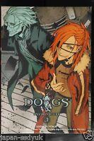 JAPAN Shirow Miwa Dogs Bullets & Carnage Manga 4 w/Anime DVD