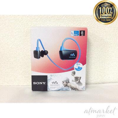 SONY Headphone Integrated Walkman Waterproof 16GB NW-WS615 L Japan Used