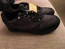 Replay Woman's Damen Trainers Sneakers Black Size EU 40 Uk 7 BNWT