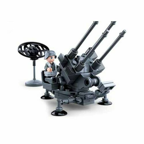 Sluban Steckbausteine Luftabwehr Geschütz M38-B0680D
