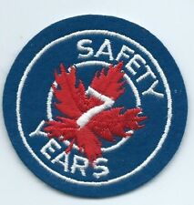 Greyhound Bus driver Canada 7 years safe driver patch 3 in dia
