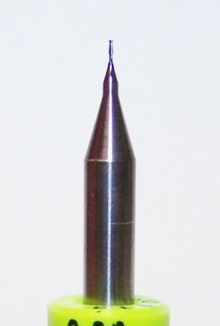 "0.30mm (.0118"") 2 FLUTE MICRO CARBIDE ENDMILLS Kyocera Tycom"