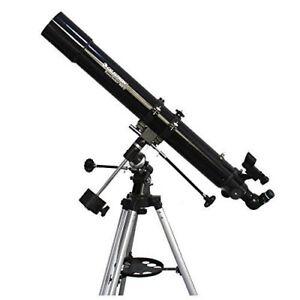 Celestron PowerSeeker 80 EQ Refractor Astronomy Stargazing Telescope #21048 (UK) 696393483010