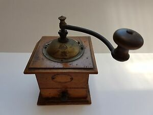 antique coffee grinder mill peugeot freres valentigney made in france