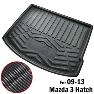 Boot-Cargo-Liner-Tray-Trunk-Floor-Mat-For-Mazda-3-BL-Hatch-Htachback-2009-2013