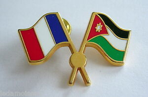 Pins 2 Drapeaux France Et Jordanie, Neuf. Gn8f32ih-08003409-535478653