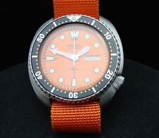 VINTAGE Seiko Divers 6309-7040 Tartaruga arancione TONNO patina LUGLIO 1981 J69.