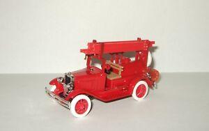 1:43 Agat Tantal Radon Gaz A (based on Ford A) 1935 russian soviet fire USSR