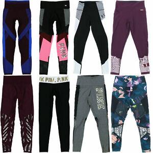 Victoria-039-s-Secret-Pink-Ankle-Leggings-Athletic-Bottoms-Activewear-Yoga-Pants-New