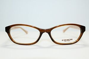 2df4bd3a2a Image is loading BRAND-NEW-COACH-HC6080D-5328BROWN-GLITTER-CRYSTAL -AUTHENTIC-