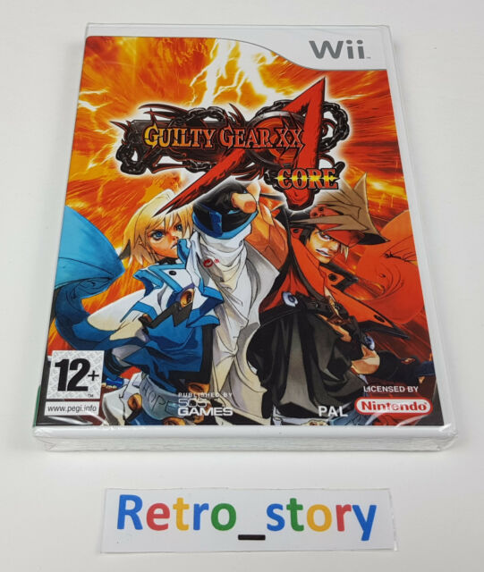 Nintendo Wii - Guilty Gear XX Accent Core - NEUF / NEW - PAL - UKV