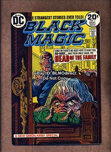 1973-Black-Magic-1-VF-First-Print-DC-Comics-Horror