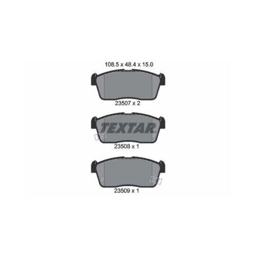 Bremsbeläge vorne Suzuki Ignis II 1,3 1,5 Textar Bremsscheiben