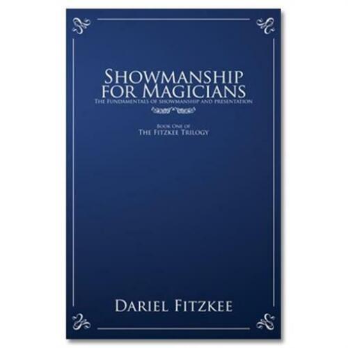 Book Showmanship for Magicians by Dariel Fitzkee Magic Tricks
