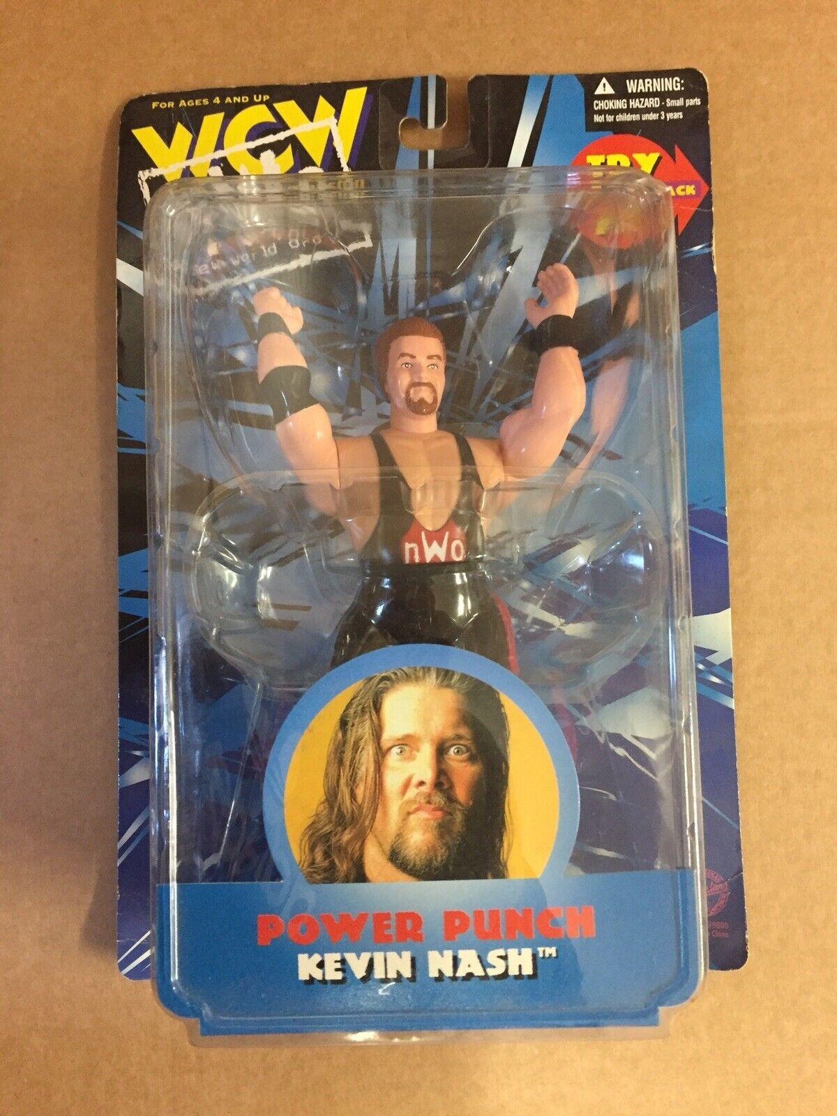 OSFTM WCW ACTION FIGURE MOC KEVIN NASH WRESTLING ACTION FIGURE wwf wwe Mattel