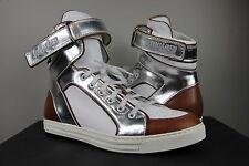 DSQUARED 2 High Top Sneaker OFFERTA DI NATALE TAGLIA 42 BIANCO WHITE statione Francoforte