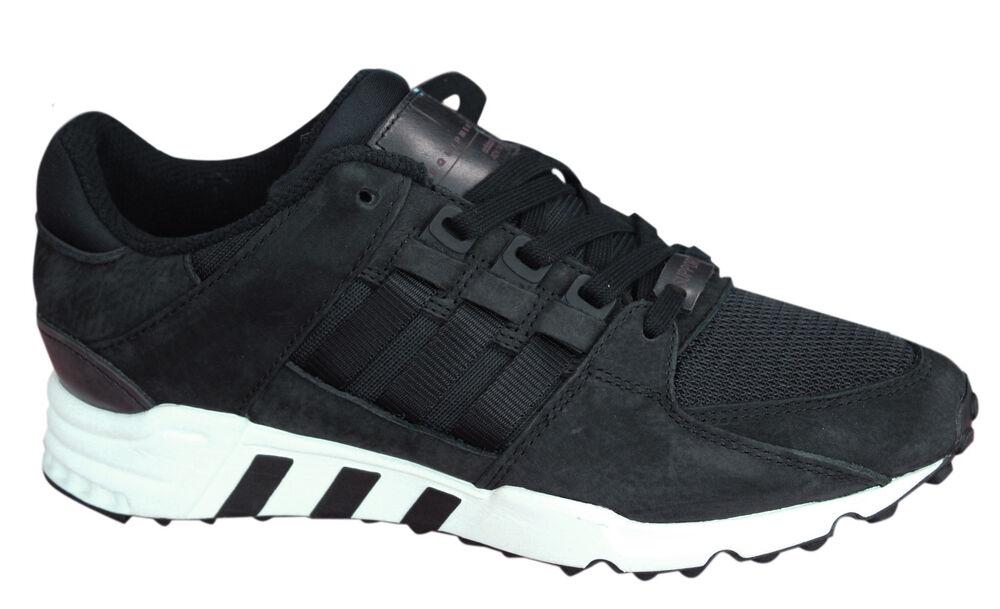 Adidas Originals Equipment Soutien Baskets Homme à Lacets Noir Blanc BA1312 U48-