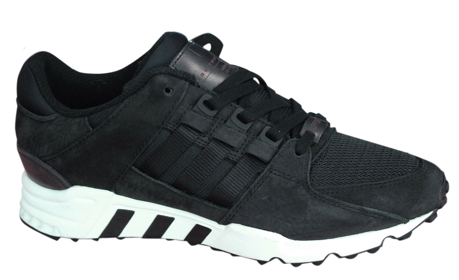 Adidas Originals Equipment Support Mens Trainers Lace Up Black White BB1312 U48