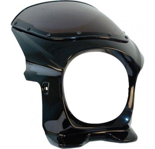 "Venom MK II Cafe Racer Bobber Fairing /& Windshield Fits 7/"" Headlights MOTOGUZZI"