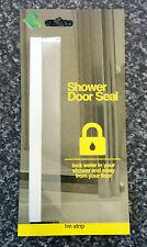 SHOWER SCREEN DOOR PLASTIC SEAL - Stop water splashing out of your shower, bath