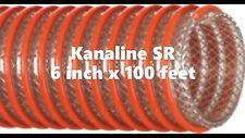 6 Inch X 100 Feet Kanaflex Kanaline Sr High Flexibility Suction Hose