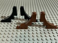 2x Brique Brick Arche Arch inverted 1x5x4 gris foncé//d b gray 30099 NEUF Lego
