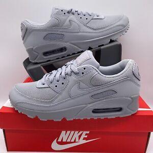 Men's Nike Air Max 90 Wolf Grey/Wolf Grey CN8490 001 Multiple ...