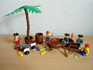 Bundle-of-Pirate-Islander-Minifigures-Spares-amp-PARTS-Genuine-LEGO-VINTAGE-1990-S