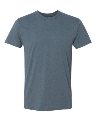 Next Level Mens Premium Fitted CVC Crew T Shirt tear away label Tee XS-3XL N6210