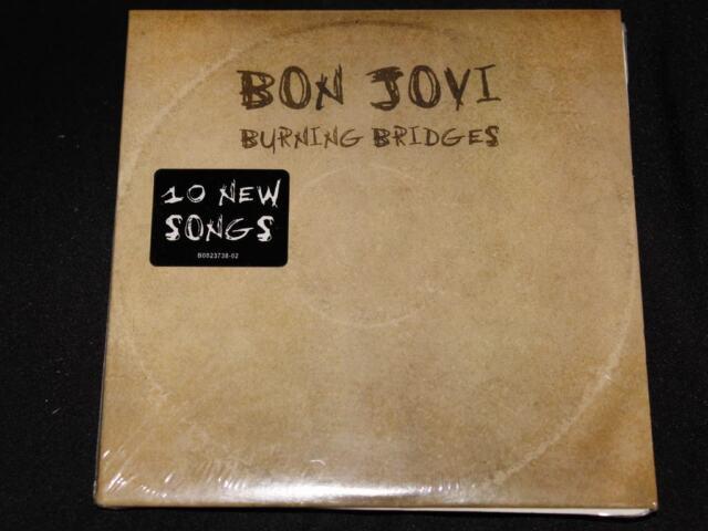 Burning Bridges [Slipcase] by Bon Jovi (CD, Aug-2015, Island (Label))