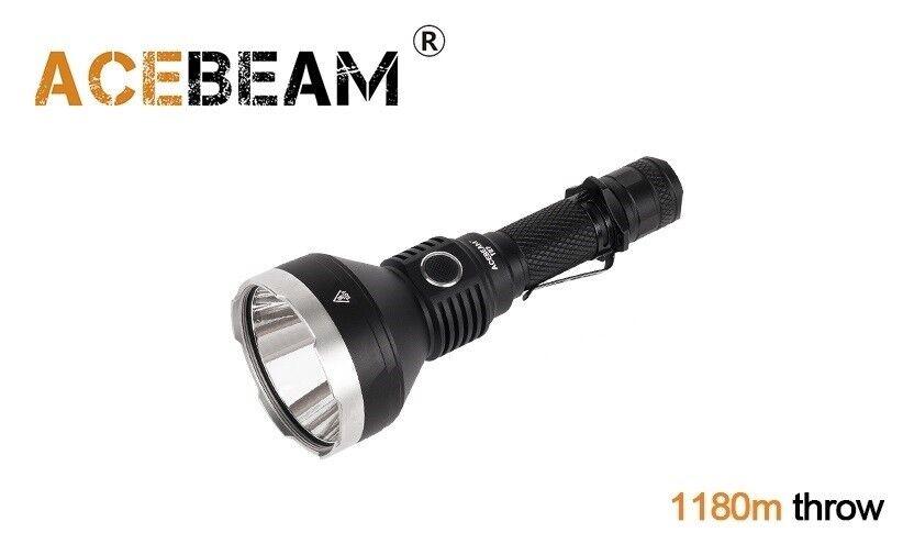 Nouveau acebeam T27 CREE XHP35 HI 2500 lm 6000K DEL Lampe de poche (sans batterie)