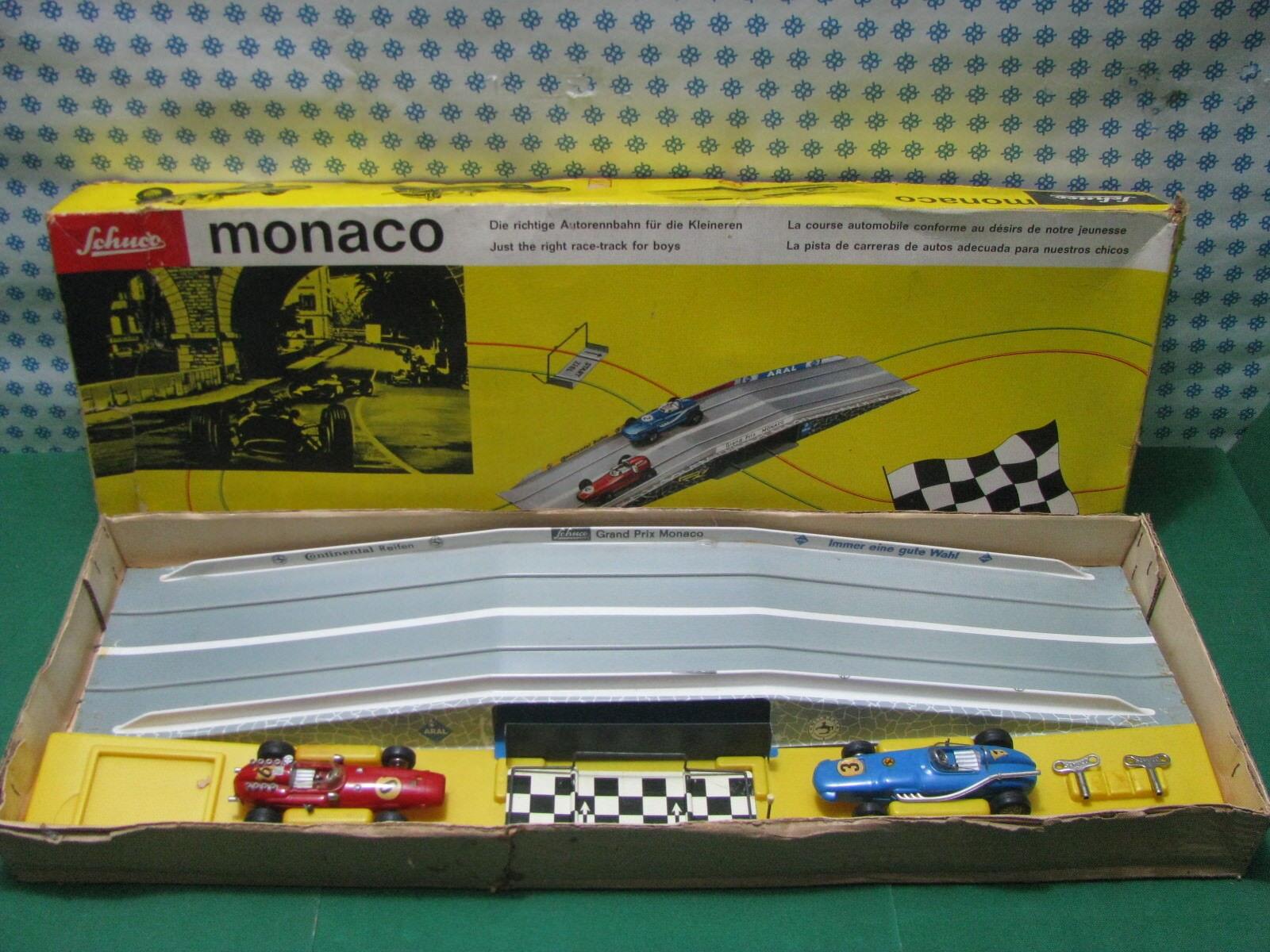 Estremely Rare - Schuco 2500 Monaco Gran Prix   Die Richtige Autorennbahn