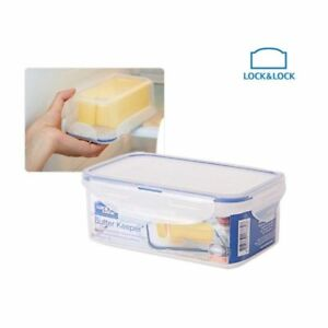 fabce4d6aa10 Details about Lock & Lock Butter Keeper HPO956 750ml BPA-Free Plastic  Rectangular 기
