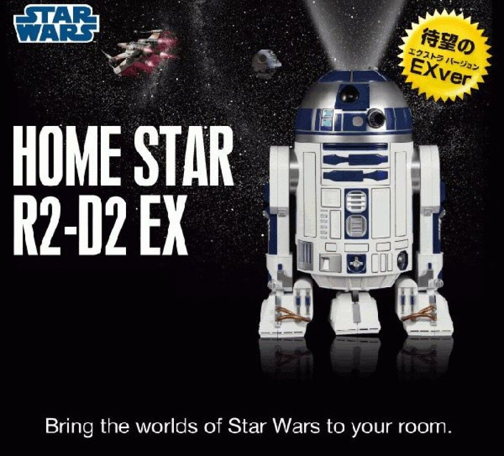 Home Star Planetarium R2-D2 Type Extra Ver. Sega Toys w/ Real Sound & Action