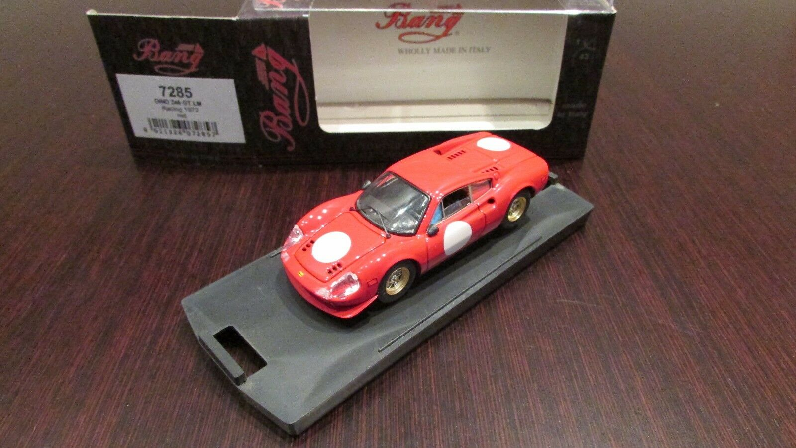 FERRARI Dino 246 GT LM LM LM N.A.R.T. press version 1 43 BANG 94c5fa